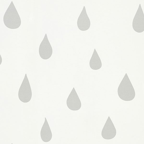 silver raindrops wallpaper