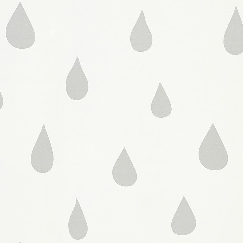 silver raindrops wallpaper
