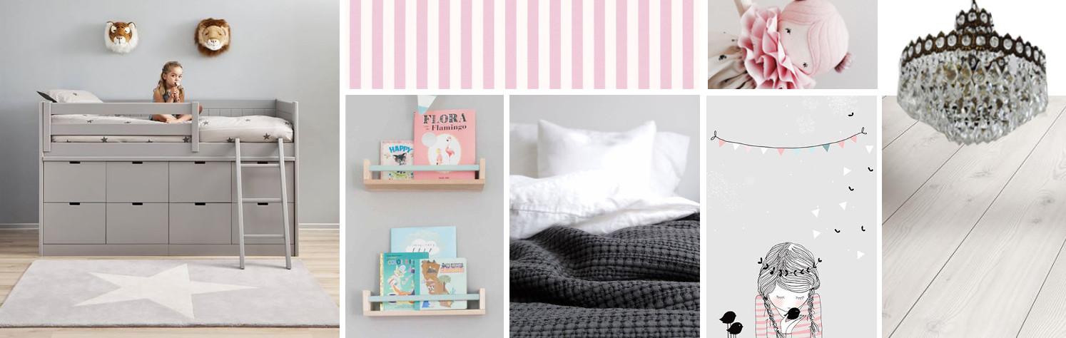 lily's bedroom moodboard