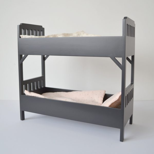 Maileg mini bunkbed, black