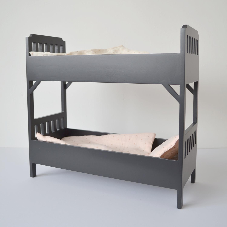 Maileg mini bunkbed, black