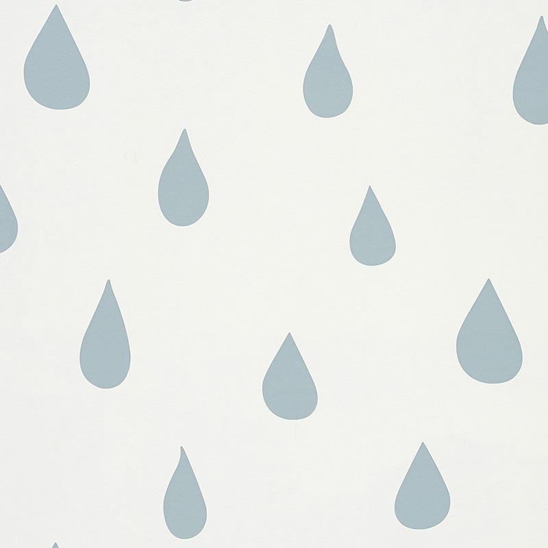 blue raindrops wallpaper