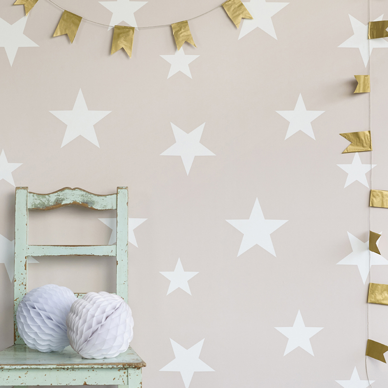 hibou home stars wallpaper dreams and wishes