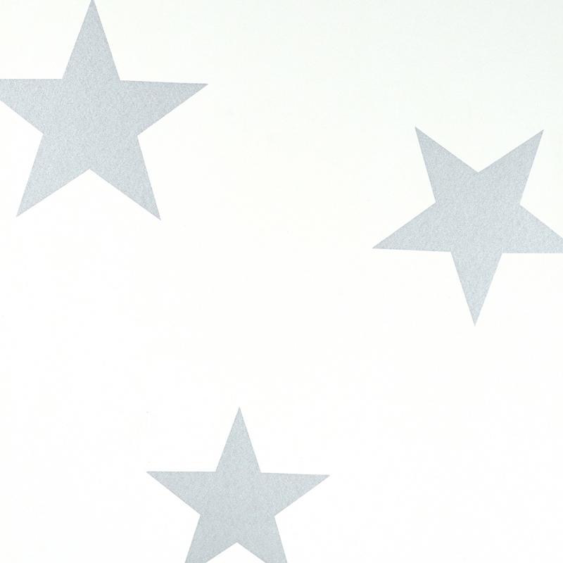 silver stars wallpaper