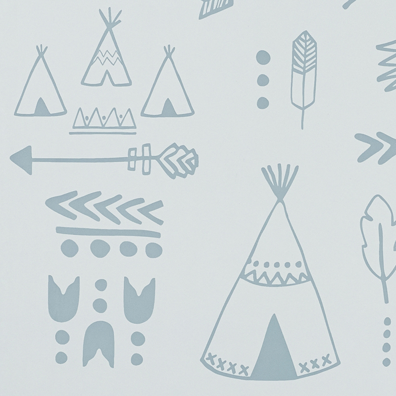 storm teepees wallpaper