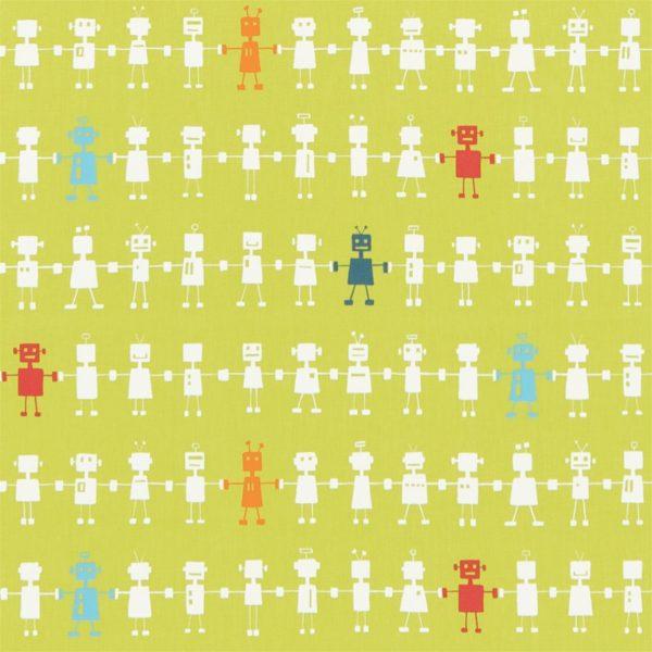 Reggie Robot lime wallpaper