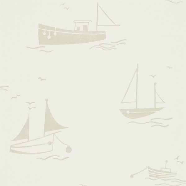Sail Away wallpaper neutral