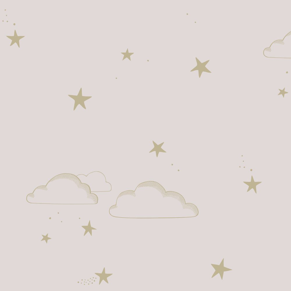 pink starry sky wallpaper