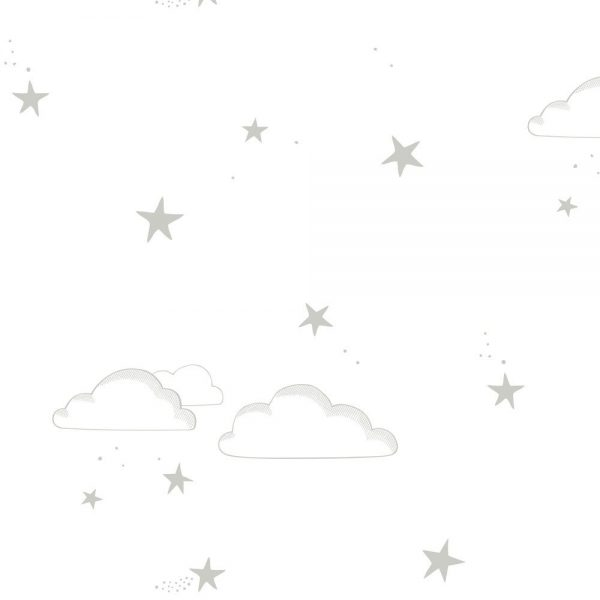 white starry sky wallpaper