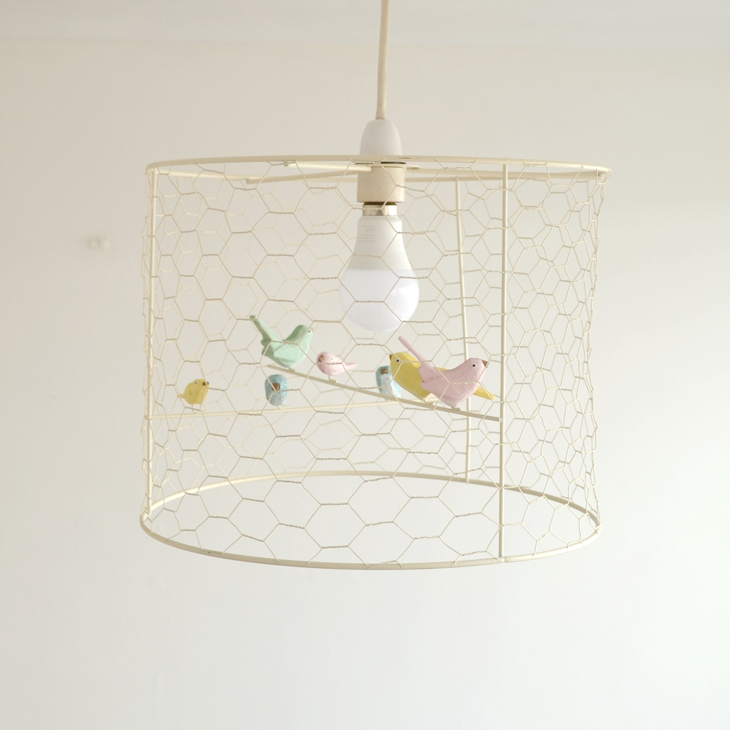 Birdcage lampshade dreams and wishes birdcage lampshade aloadofball Image collections