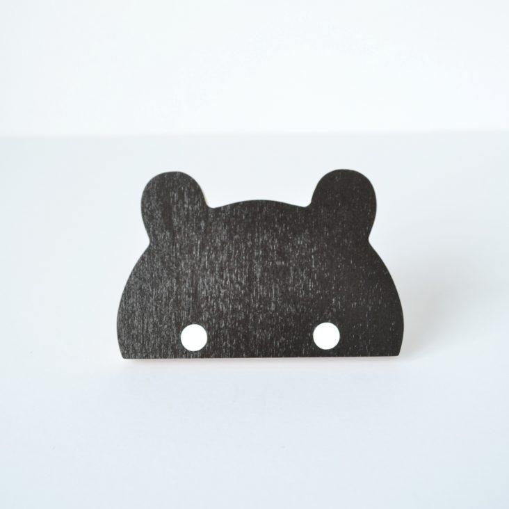 wooden bear hook