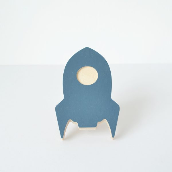 ocean blue rocket wall hook