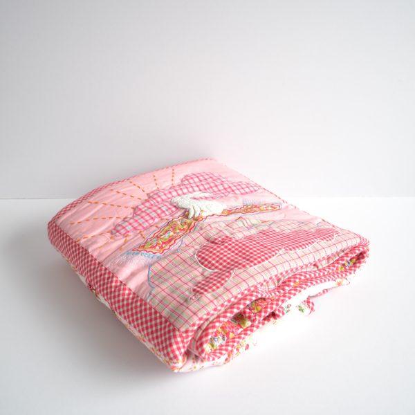 Room7 pink cot quilt