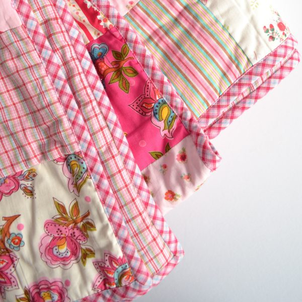 Room7 patchwork quilt detail
