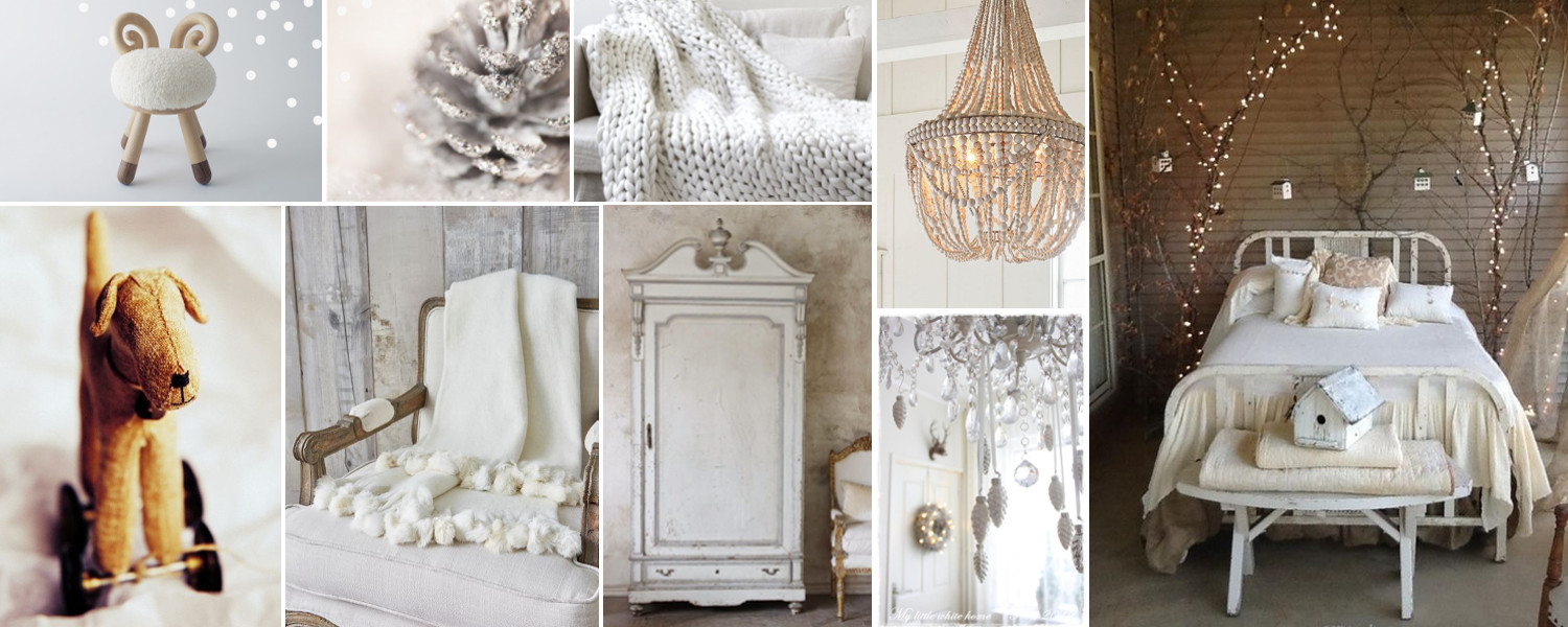 winter white bedroom moodboard