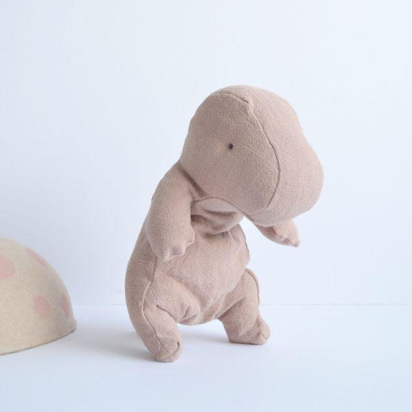 Maileg baby dinosaur, pink