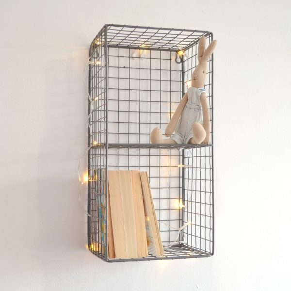 small wire shelf