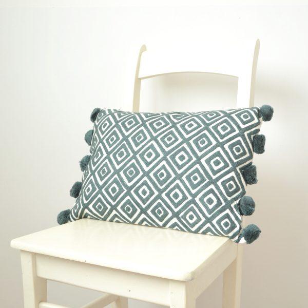 Kabuki cushion from Bombay Duck