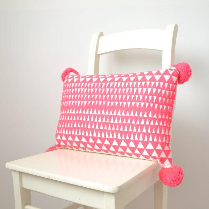 Medina Cushion, coral
