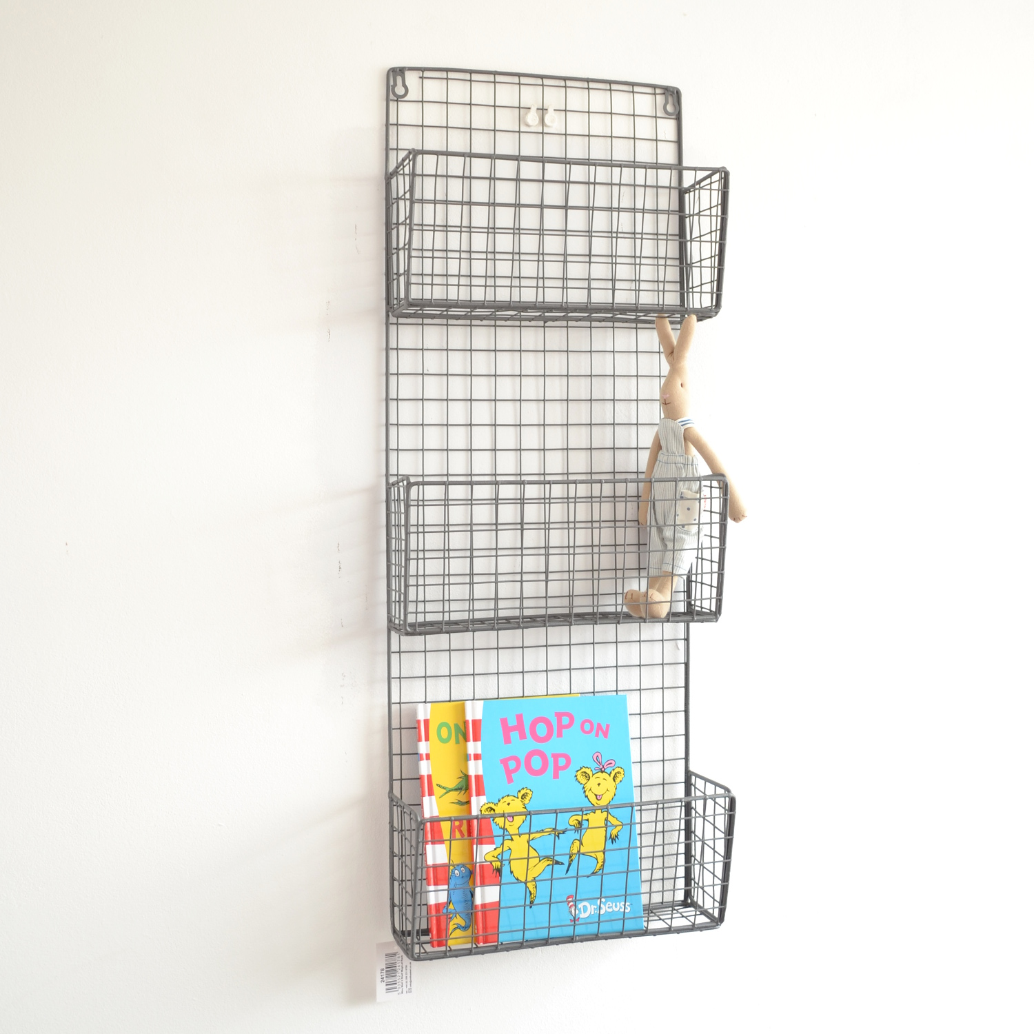 Large metal magazine rack