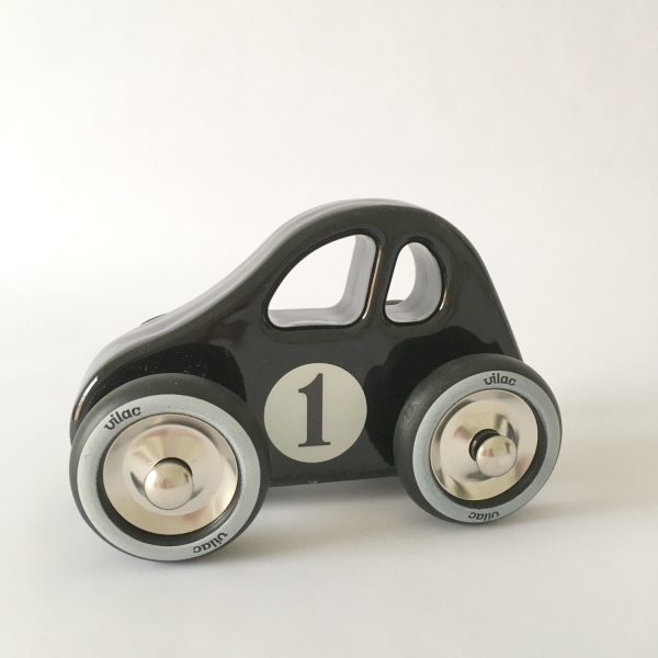 child's wooden car
