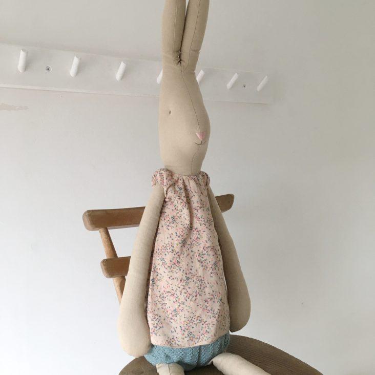 extra-large maileg rabbit soft toy