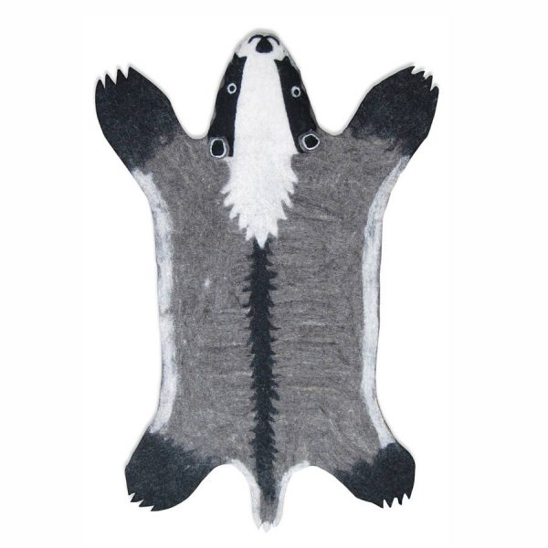 Sew Heart Felt Billy Badger Rug